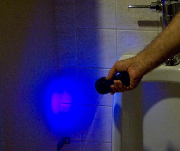 LUYOR-3260A紫外线黑光灯照射体液