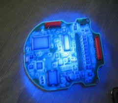 黑光灯用于三防漆的检查